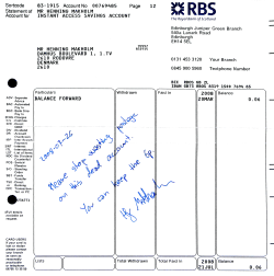 [My letter to RBS]