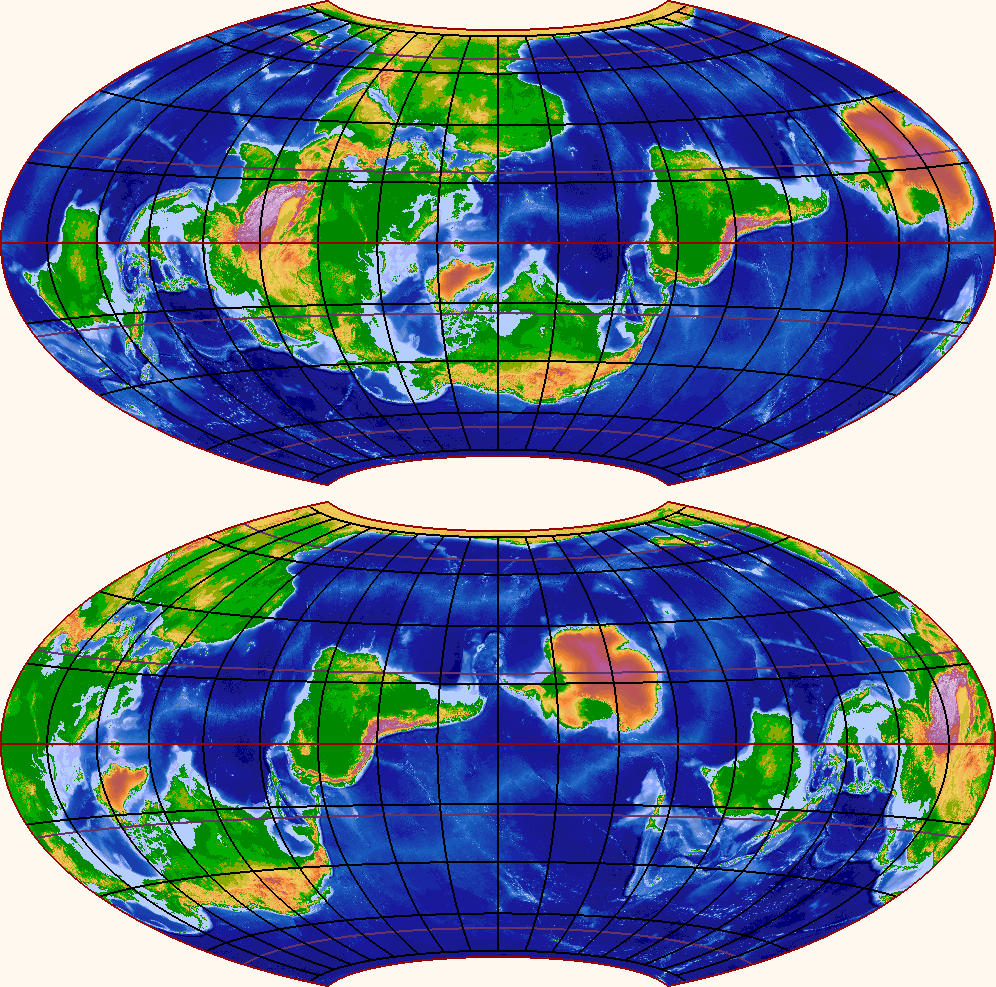 so i wrote myself a program to draw world maps with alternative positions of the poles i find the results convincing and fascinating